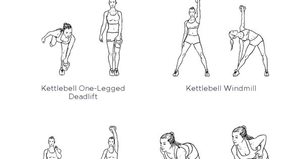 Ultimate Kettlebell Full Body Printable Workout