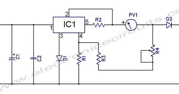 L200 12V Constant Voltage Battery Charger Circuit Diagram