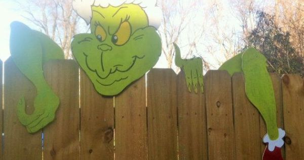 Grinch Decorations Google Search The Grinch That Stole