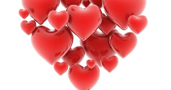 Floating Hearts Happy Heart Valentine Heart And Clip Art