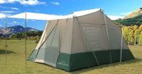 Pinnacle's two room cabin tent is a 6-person, all season ...