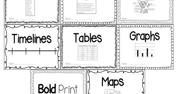 Guided Reading Gurus: Nonfiction Text Features Printable