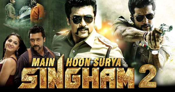 hindi dubbed movies of suriya - main hoon surya singham 2 poster