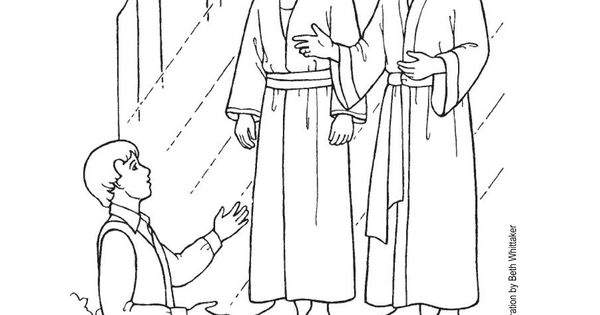 Sunbeam Printables: Coloring Page for Lesson 2: Heavenly