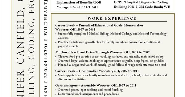 Interesting Resume Idea Not Sure I Like The Name On The