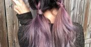 metallic mauve hair color jessica