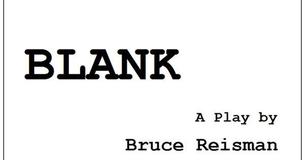 Blank Playbill Cover Blank playbill template
