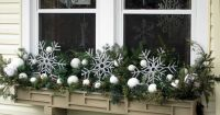 Window box decorated for winter   window boxes   Pinterest ...