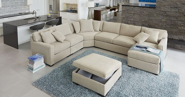 This Is The Couch We Are Getting Macys Radley 5 Pc Sectional In Chrome 1799 Livingdining