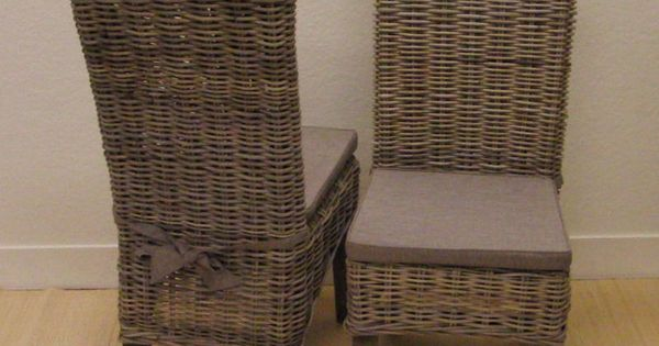 rieten stoelen  brocante  Pinterest  Rieten stoelen