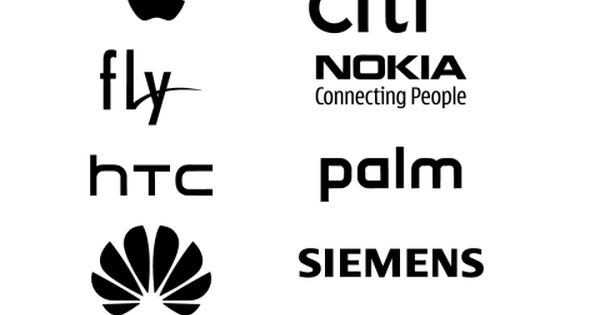 Free Logos Vector Brands Alcatel, iPhone, Android, LG