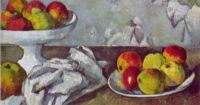 Paul Cezanne (French, 1839-1906): Still life with apples ...