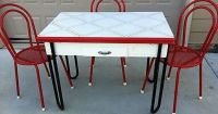 1930s Kitchen Table and Chairs | ... 1940 ENAMEL-TOP ...