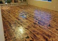 FLOORING made from SCORCHED PLYWOOD!!! Love!! | BARN ...