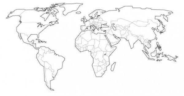 Looking for a Blank World Map? Free Printable World Maps