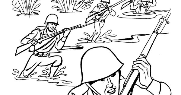 American history military coloring pages for kid