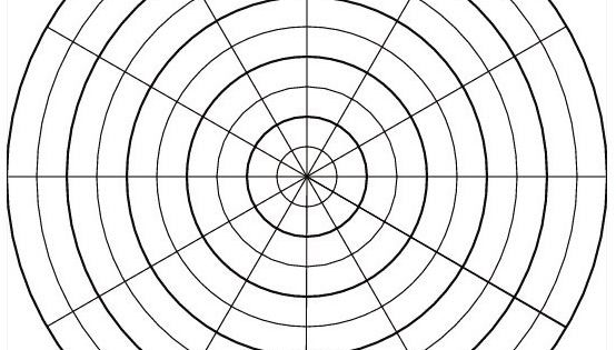 free printable graph paper can be used for circular or