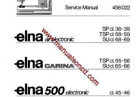 Elna Air Electronic – Carina