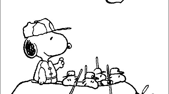 Snoopy, Coloring pages and Free printable on Pinterest