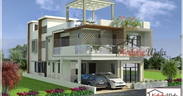 Double Storey Elevation Two Storey House Elevation 3d Front View Apartment Plans