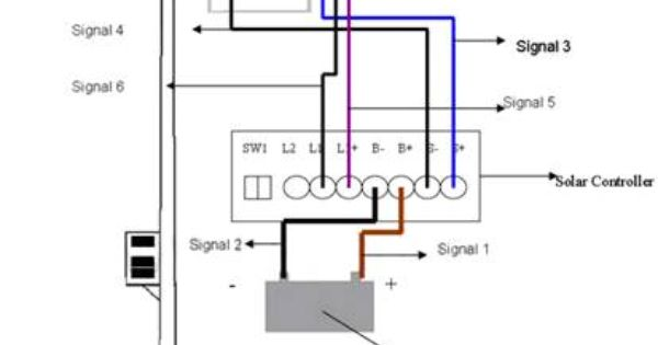 morningstar charge controller wiring diagram