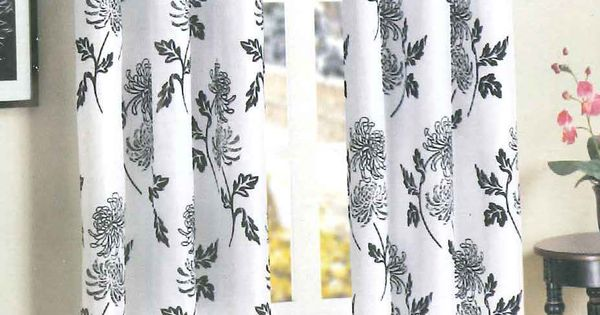 Pretty curtains found at Family Dollar for 1050panel