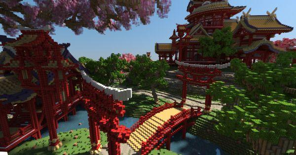 April cherry tree Sakura Island japanese style beautiful