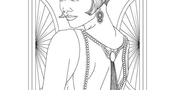 Glamourista: An Adult Coloring Book of Fashion, Jewels and