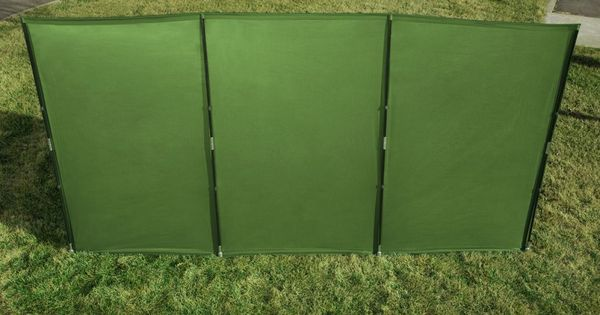 The WallUp Nylon Outdoor Privacy Screen and Wind Protector by Kittrich  Trips Shopping and The