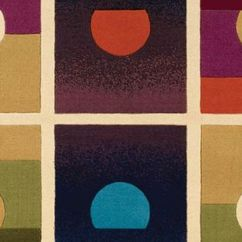 Pendant Light Kitchen Cabinet Corner Shelf Setting Suns Rug From The Andy Warhol Rugs Collection At ...