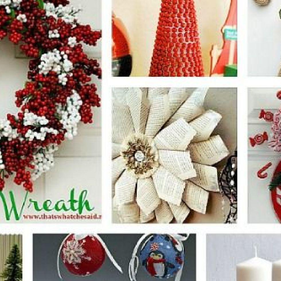 "DIY Home Decor Ideas"" – Christmas Wallpaper Ideas"