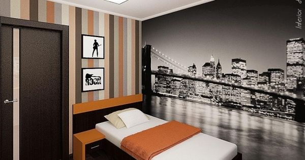 Jugendzimmer junge wandgestaltung  Wandgestaltung Jugendzimmer Junge Fototapete Sachen Motive - Johncalle