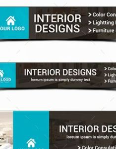 Interior design banners banner template and home also rh pinterest