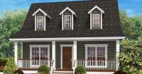 wrap around porch on cape cod | Cape cod house plans with ...