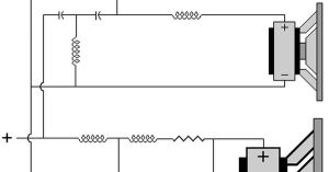 Complete Crossover Diagram Example   ponent design   Pinterest   Crossover, Speakers and Audio