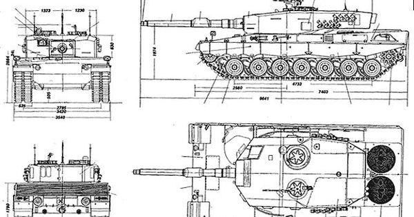 Leopard 2A4 main battle tank technical data sheet