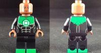 John Stewart Green Lantern Custom Minifigure | Lego ...