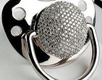 Diamond baby pacifier