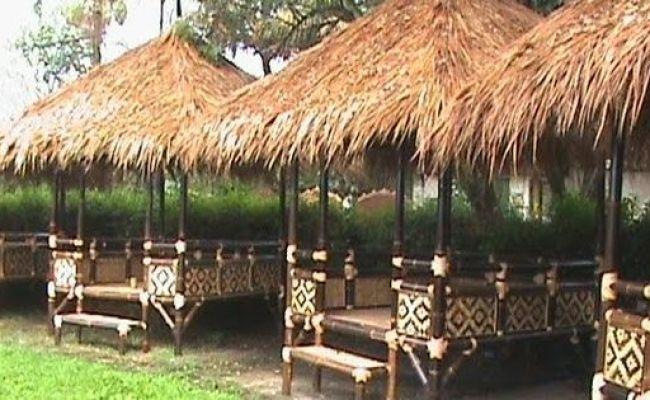 Jasa Tukang Taman Tukang Saung Bambu Saung Bambu Taman