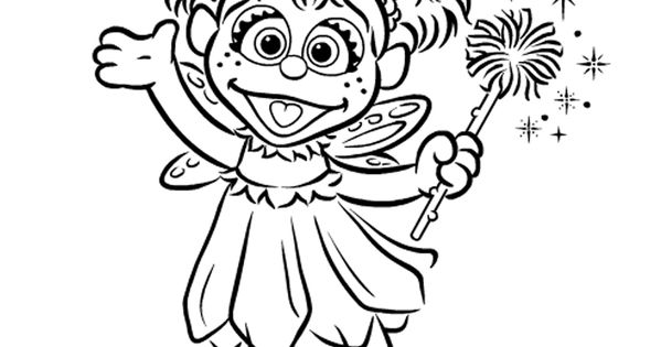 Abby cadabby colouring book for each kid and crayons as an