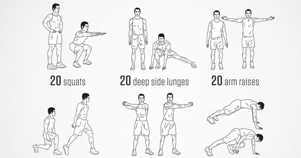 No-equipment Spartacus bodyweight workout for all fitness