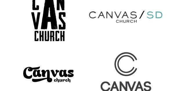 Canvas Church logo ideas by http://apixelpusher.tumblr.com