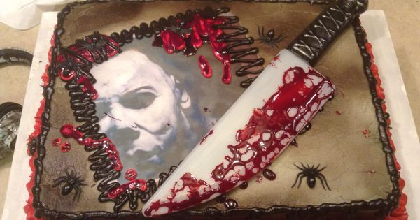 Michael Myers Halloween Birthday Cake I Made My Cakes