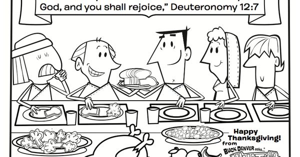What's in the Bible? Deuteronomy 12:7 Thanksgiving