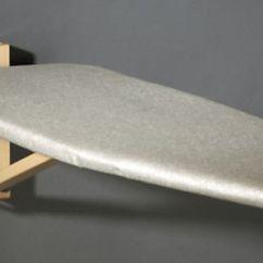 Folding Chair With Desk Baseball Bat Ironing Board Wall Mount | Wall-mounted-ironing-board_1.jpg Laundry Pinterest Discover ...