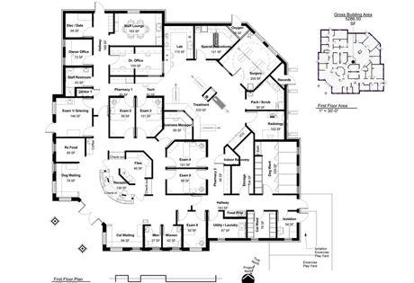 Floor plans of veterinary hospitals: Photo gallery