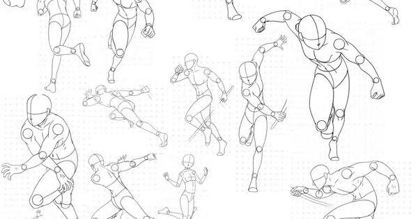 Virgin Bodies 3, by FVSJ on deviantART. >> Action pose