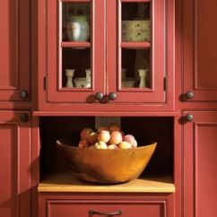 Cream Kitchen Cabinet Ideas Floor Cranberry Colored Cabinets | ... Pantry