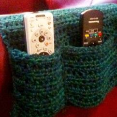Long Sofa Arm Covers Gold Mirrored Table Chair Remote Caddy | Crochet Pinterest Armchairs ...