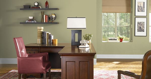 living room wall paints design ideas with brown leather sofa this is the project i created on behr.com. used these ...